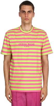 GUESS Farmers Market Striped Jersey T-Shirt