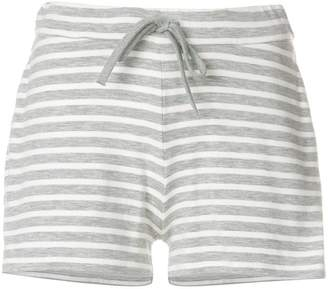 Majestic Filatures striped track shorts