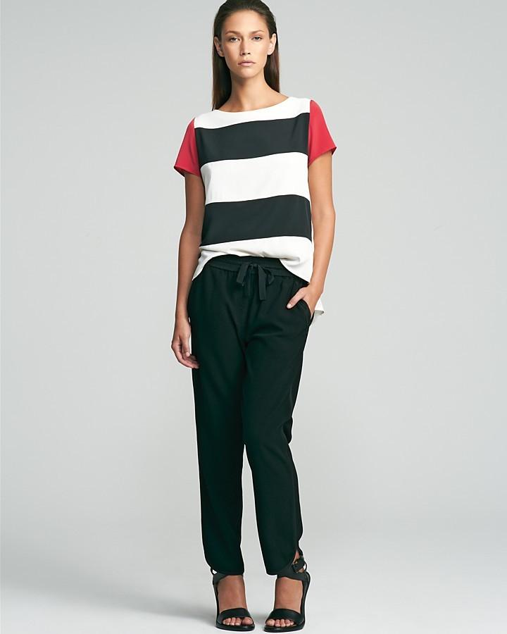 Kenneth Cole New York Alona Stripe Blouse
