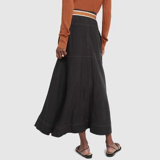 Lee Mathews Lucien A-Line Skirt