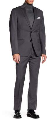 John W. Nordstrom Italian Classic Fit Solid Wool Suit