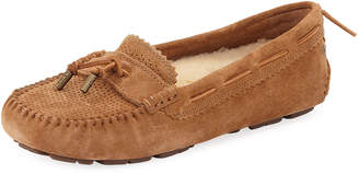 UGG Roni Perforated Flat Slippers, Brown