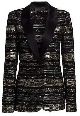 St. John Women's Passementerie Knit Evening Jacket