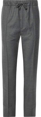 Fendi Wool-Flannel Drawstring Trousers