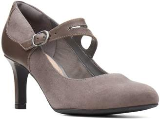 Clarks Collection By Dancer Reece Suede Mary Jane Pumps