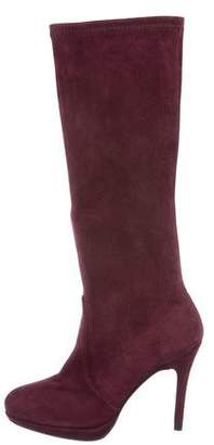 Stuart Weitzman Give It Up Suede Boots w/ Tags