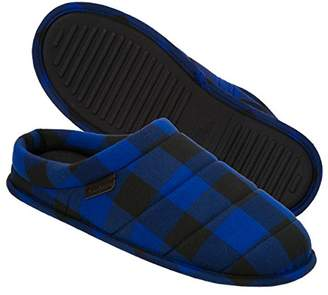 Dearfoams Men's Quilted Clog Slipper
