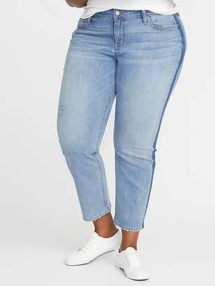 Old Navy High-Rise The Plus-Size Power Jean, a.k.a. The Perfect Straight Ankle