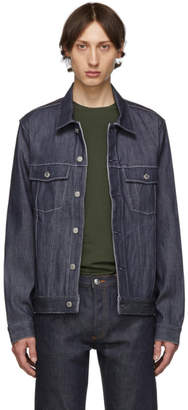 A.P.C. Indigo Denim Charles Jacket