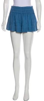 Etoile Isabel Marant Ruched Mini Shorts
