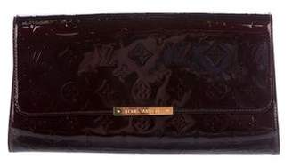 Louis Vuitton Vernis Robertson Clutch