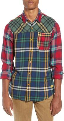 Scotch & Soda Mix and Match Plaid Shirt