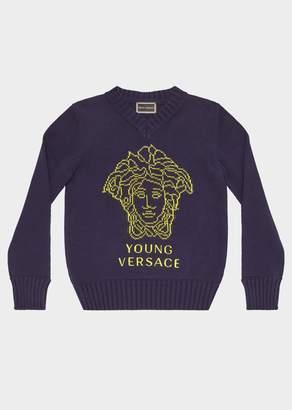 Versace Medusa Cotton Sweater