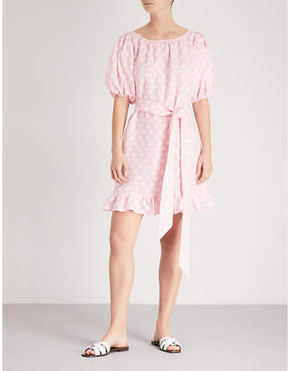 Lisa Marie Fernandez Prairie linen mini dress