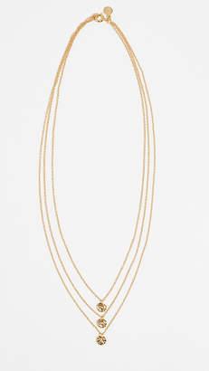 Gorjana Three Disc Necklace