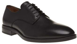 Sole New Mens Black Finsen Leather Shoes Lace Up