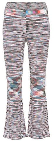 Missoni Striped cropped wool trousers