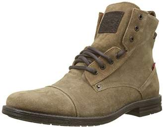 Levi's Men's Emerson Biker Boots, (Medium Brown 27)