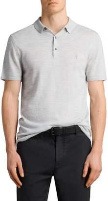 AllSaints Mode Slim Fit Merino Wool Polo