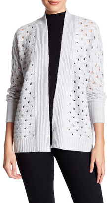 Kinross Luxe Texture Cashmere Cardigan Sweater $169.97 thestylecure.com