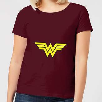 Justice League Wonder Woman Logo Women's T-Shirt