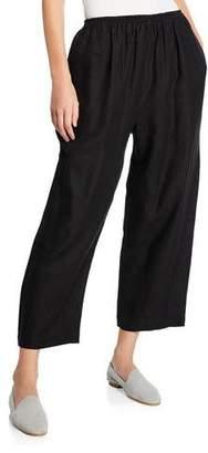 eskandar Lightweight Linen Japanese Trousers