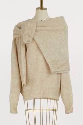 Celine Two-in-one sweater in soft Shetland wool
