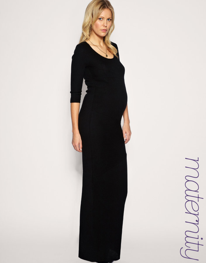 ASOS MATERNITY Knitted Maxi Dress