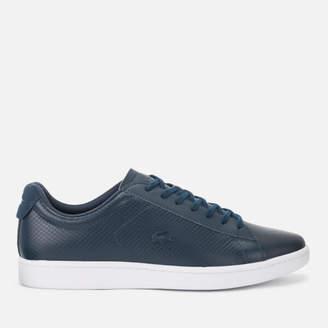 9ab0bed2a Lacoste Blue Leather Shoes For Men - ShopStyle Australia