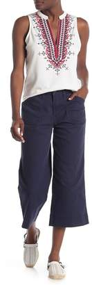 SUPPLIES BY UNION BAY Kylee Twill Cropped Wide Leg Pants