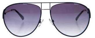 Balmain Gradient Aviator Sunglasses