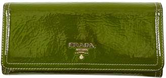 Prada Green Patent leather Purses, wallets & cases