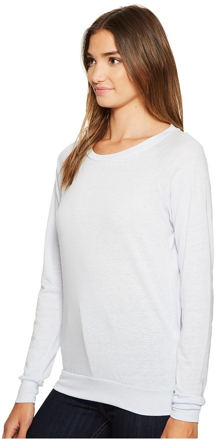Alternative Eco-Heather Slouchy Pullover Women's Long Sleeve Pullover