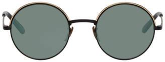 Garrett Leight Black Seville Sunglasses