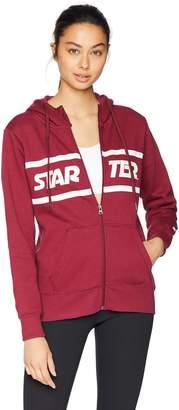 Starter Women's Zip-Up Logo Hoodie Amazon Exclusive