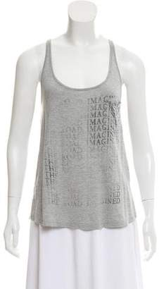 Haute Hippie Graphic Tank top