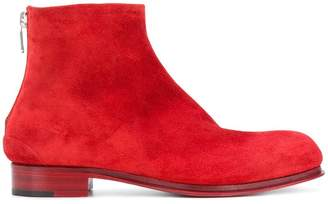 Rocco P. back zip ankle boots