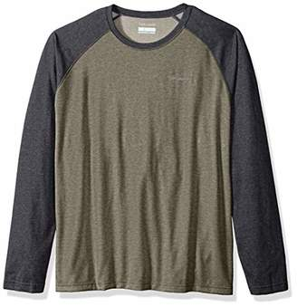 Columbia Men's Thistletown Park Big & Tall Raglan Tee