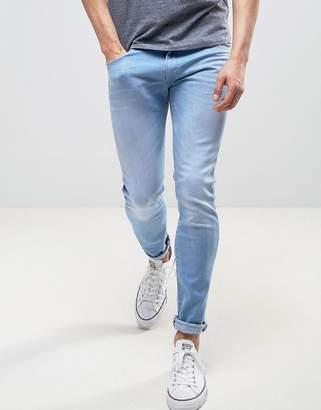 Wrangler Bryson Skinny Jeans High Seas Wash