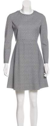 Tory Burch Abstract Print Dress