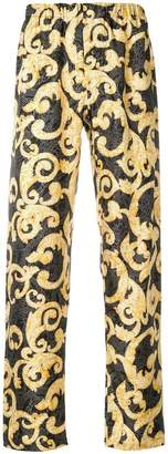 Versace Barocco print trousers