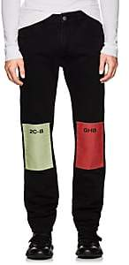 Raf Simons Men's Drug-Patch Slim Jeans-Black