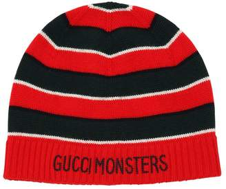 Gucci Striped Knitted Wool Hat