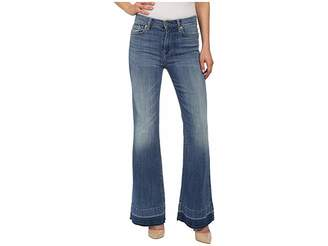 7 For All Mankind Tailorless Ginger in Bright Light Broken Twill 2 Women's Jeans