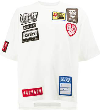 Miharayasuhiro multi patch T-shirt