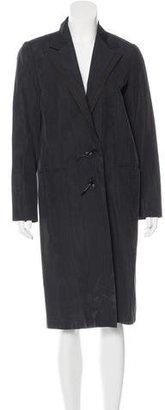 Lanvin Notch-Lapel Long Coat $245 thestylecure.com