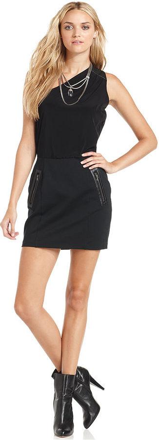 DKNY Dress, One-Shoulder