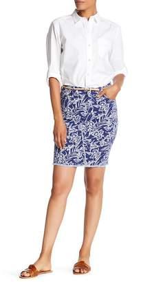 Tommy Bahama Mar-A-Sketch Denim Skirt