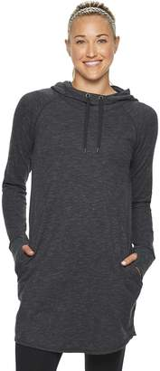 Tek Gear Women's Hooded Cowlneck Tunic