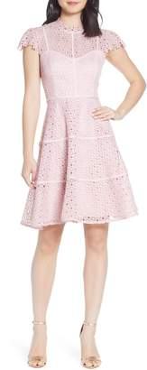 Ever New Ella Lace Fit & Flare Dress